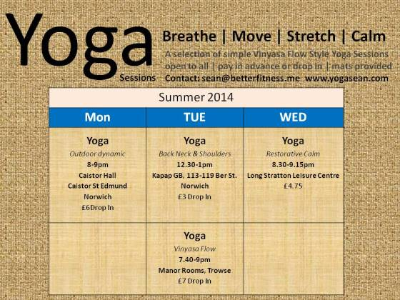 Yoga tt may14