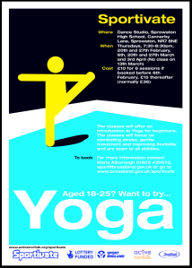 Sprowston Yoga Session
